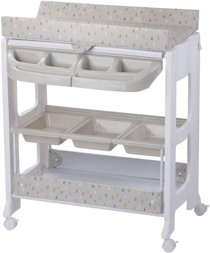 Safety 1st DOLPHY 'Warm Gray', cambiador bañera.